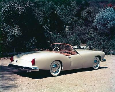 1954 Kaiser Darrin Automobile Photo Poster zad9454-2BLXG6