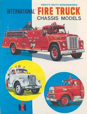 1962 International Fire Truck Brochure 39980-5MWYVV
