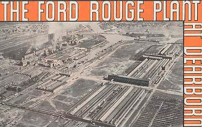 1935 Ford Brochure Rouge Plant Dearborn MI 49404-3A7TV7