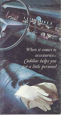 1967 Cadillac Accessories Brochure 5607-ADDVBB