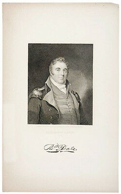 c. 1830 Portrait: Revolutionary War Naval Officer