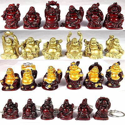 6 x buddha figuren figur happy buddha gl cksbuddha feng shui gl cksbuddhas eur 1 99. Black Bedroom Furniture Sets. Home Design Ideas