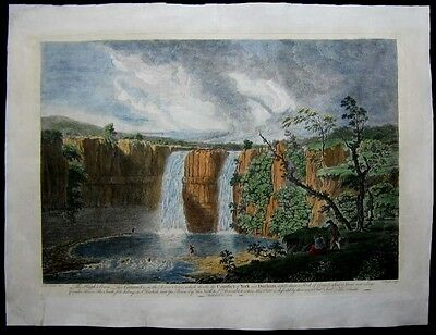 1751 Original Thomas Smith View High Force Waterfall River Teese Durham England