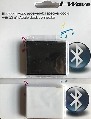 Bluetooth Stereo Audio Receiver Music iPod Dock Bose Sound Dock i-wave