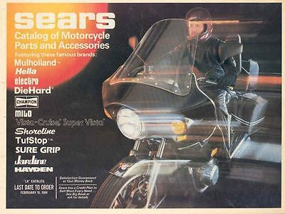1984 Sears Motorcycle Part & Accessory Brochure 66773-TMIL88
