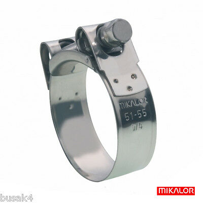 Suzuki Gsf 600 650 1200 1250 All Models Full W4 Stainless Steel Exhaust Clamp