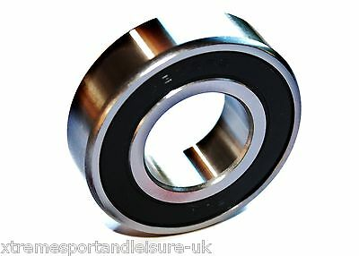 6001 2rs 12x28x8w Deep Groove SEALED HIGH PERFORMANCE BEARING