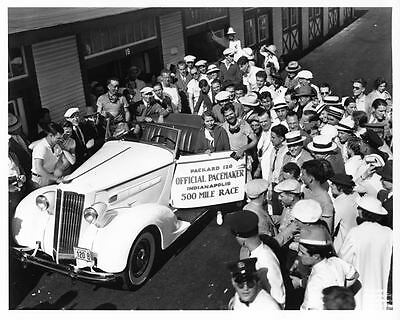 1936 Packard 120 Indy 500 Pace Car Factory Photo ae0874-C6Z63E