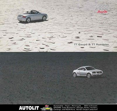 2000 Audi TT Coupe & Roadster Brochure Japanese wr1515-QVQ2YW