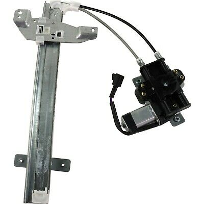 Power Window Regulator For 97-2005 Buick Century Rear Passenger Side With Motor