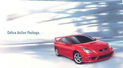 2001 Toyota Celica Action Package Sales Brochure mw2236-KNM4G6