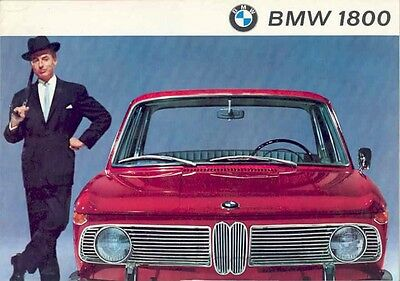 1964 BMW 1800 Sales Brochure mw2964-S4MTZV