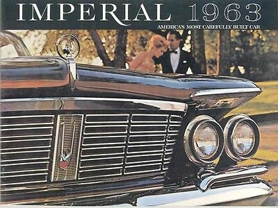1963 Chrysler Imperial Sales Brochure mw4542-ZUEPO5