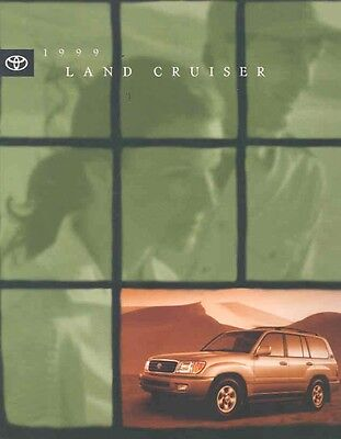1999 Toyota Land Cruiser Sales Brochure mw5434-57TMC4