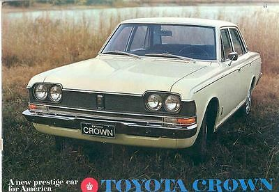 1969 Toyota Crown Sales Brochure mw6075-XWYAHM