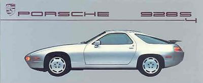 1987 Porsche 928S4 Color Brochure mw7102-6YASHD