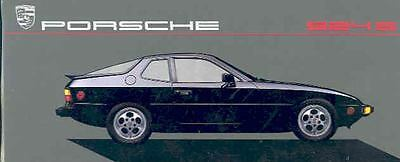1987 Porsche 924S Color Brochure mw7101-XOLX8E
