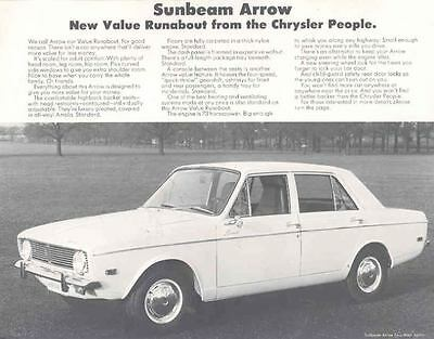 1967 Subaru Arrow Sales Brochure mw8897-OF5RMJ