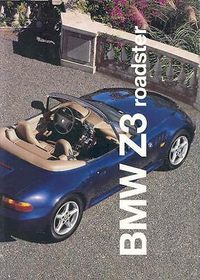 1997 BMW Z3 Roadster Sales Brochure mw9447-5ZZMX8