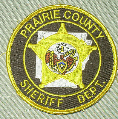 Prairie County Arkansas Sheriff  Police Patch    Obsolete