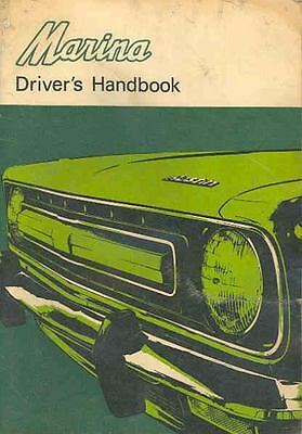 1973 Austin Marina Owner's Manual fo162-GMIFQF