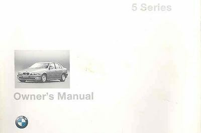 1998 BMW 5 Series Owner's Manual fo213-DJAELN