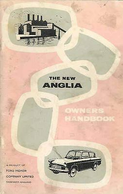 1960 Ford of England Anglia Owner's Manual fo439-7W1XFQ
