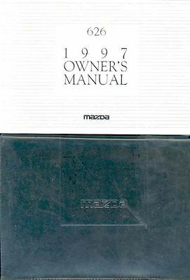1997 Mazda 626 Owner's Manual and Pouch fo976-AJIKBV