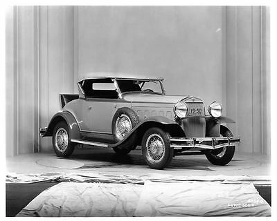 1930 Hudson Roadster Factory Photo ad5794-42S4OC