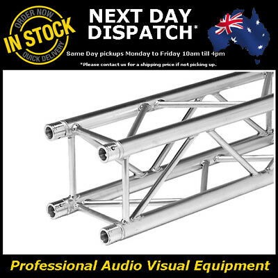 2 Metre Box Truss 290mm Heavy Duty Trussing Aluminium Tube Lighting Stand 2m