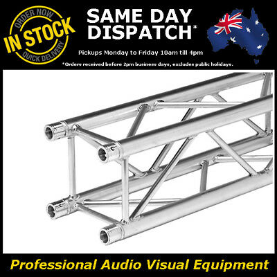 1 Metre Box Truss 290mm Heavy Duty Trussing Aluminium Tube Lighting Stand 1m