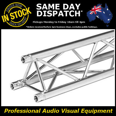 1 Metre Tri Truss 290mm Heavy Duty Trussing Aluminium Tube Lighting Stand 1m
