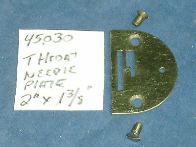 Genuine Singer Sewing Machine Throat Needle Plate 32602 66 99 185 192 And More
