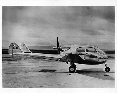 1956 Kaiser Stearman Hammond Airplane Factory Photo ad6705-7VT2CG