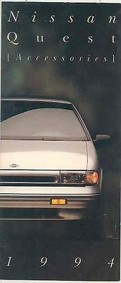 1994 Nissan Quest Accessories Brochure d0257-TS38ZH