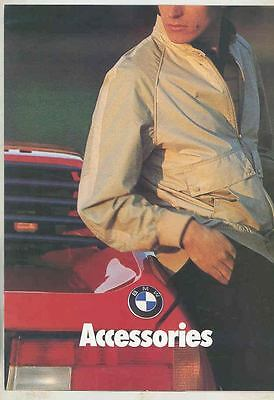 1981 BMW Factory Clothes Brochure Ski Jacket Hoodie Leather Knit Jacket ws9930