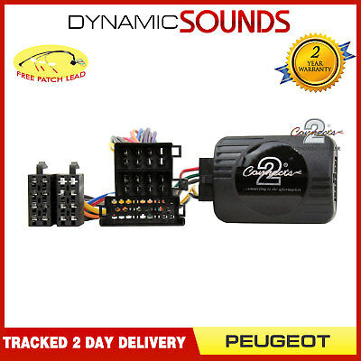 DS-PG004.2 Steering Wheel Stalk Control Interface Adaptor For PEUGEOT 206 306