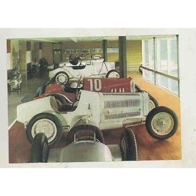 1930's Mercedes Benz Race Car Daimler Benz Museum 1974 Postcard wt09-9H3O22