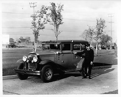 1930 General Cab Model 010 Factory Photo ad8894-T9TAPM