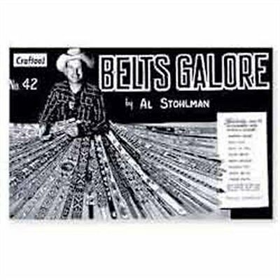 Belts Galore Book By Al Stohlman 6039-00 by Tandy Leather