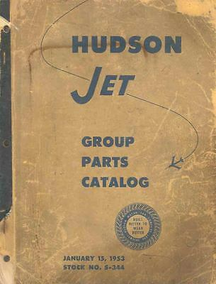 1953 Hudson Jet Chassis & Body Illustrated Parts Book I316-AXJN5T
