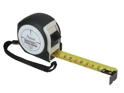 Advent UK's Only CLASS 1 MASTER PRECISION 5m/16ft Pocket Tape Measure With Clip