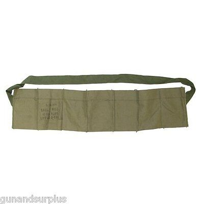 USGI  5.56 223 7 Pocket Bandolier  NEW Bandoleer .223/556 For Stripper Clips