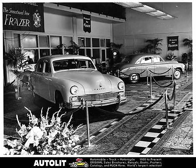 1946 Kaiser Frazer Factory Photo ad9575-XIN5D8
