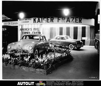 1949 Kaiser & Frazer Factory Photo ad9611-H6CSZA