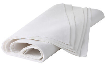 3 Pack Denny's WHITE PLAIN TEA TOWEL Printable 50 x 70cm - 1000's to clear!