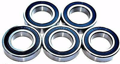 5 pack 61903 2rs [6903] 17x30x7mm Thin Section SEALED HIGH PERFORMANCE BEARINGS