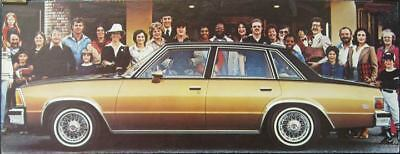 1980 Chevrolet Monte Carlo Showroom Picture Poster 152905-IYNJGL