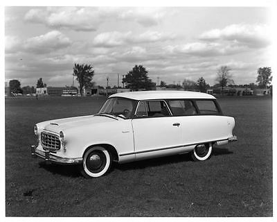 1955 Nash Rambler Two Door Station Wagon Factory Photo ae3055-Q597Z4