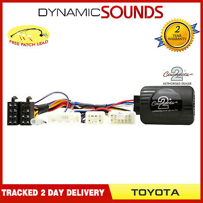DS-TY002.2 Steering Wheel Control Adaptor For Toyota RAV4 Verso Yaris 2011>